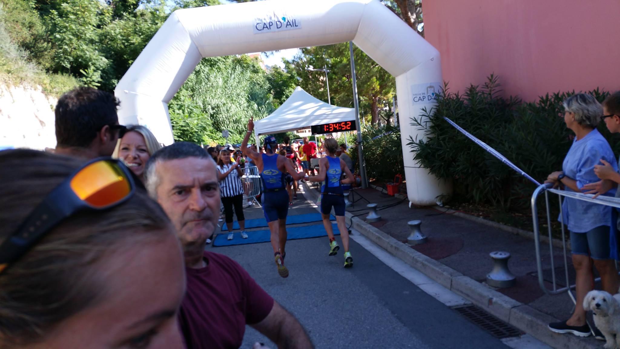 triathlon cap d'ail